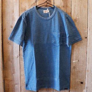 Faherty Brand(ファリティブランド):インディゴポケットTシャツ
