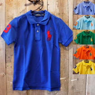 【ボーイズ】Polo Ralph Lauren(ポロラルフローレン):ビッグ ポニー ポロシャツ