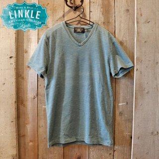 RRL(ダブルアールエルラルフローレン):インディゴVネックTシャツ