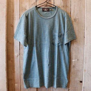 RRL(ダブルアールエルラルフローレン):インディゴTシャツ
