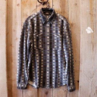RRL(ダブルアールエルラルフローレン):シャドーチェックワークシャツ