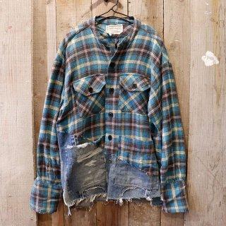 Greg Lauren(グレッグローレン):50/50 Boxy Studio Shirt