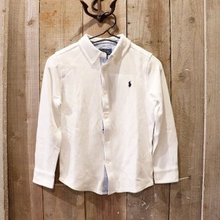 【ボーイズ】Polo Ralph Lauren(ポロラルフローレン):ジャージーシャツ