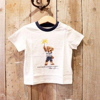 【ベビー】Polo Ralph Lauren(ポロラルフローレン):ポロベアーTシャツ