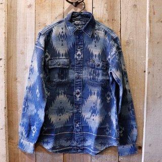 Polo Ralph Lauren(ラルフローレン):インディゴネイティブシャツ