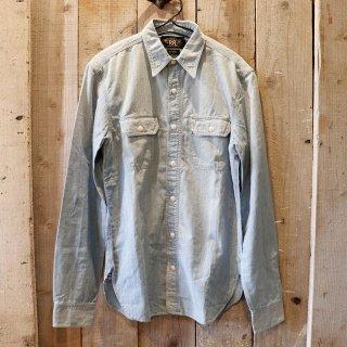 RRL(ダブルアールエルラルフローレン):シャンブレーワークシャツ