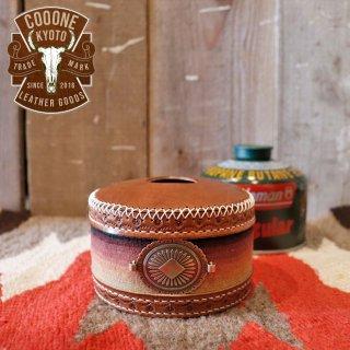 cooone(コーン):セラーペラグ レザーOD缶カバー