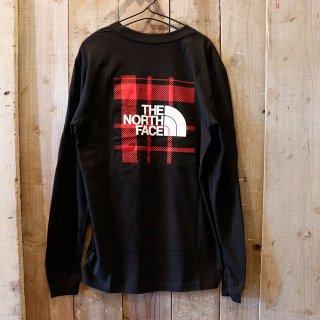The North Face(ザ ノースフェイス):バックプリント 長袖Tシャツ