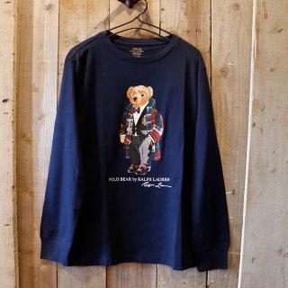 【ボーイズ】Polo Ralph Lauren(ラルフローレン):ポロベアー長袖Tシャツ