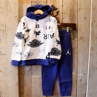 【ボーイズ】Nike Jordan Brand(ナイキ ジョーダンブランド):スウェットセットアップ(パーカ+パンツ)