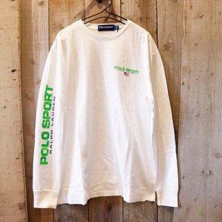 Polo Ralph Lauren(ラルフローレン):【Polo Sport】長袖ロゴTシャツ