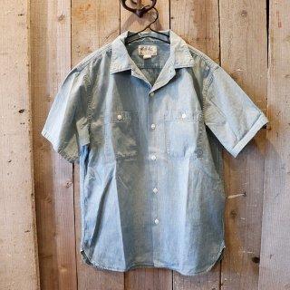 RRL(ダブルアールエルラルフローレン):半袖シャンブレーシャツ
