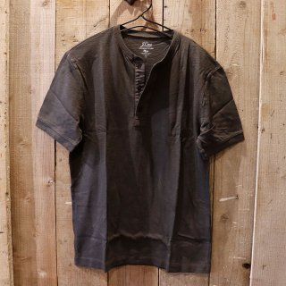 J.crew(ジェイクルー):ヘンリーTシャツ/Black