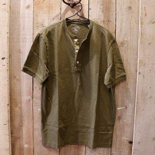 J.crew(ジェイクルー):ヘンリーTシャツ/Olive