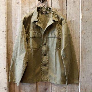 RRL(ダブルアールエルラルフローレン):ヘリンボーン シャツジャケット