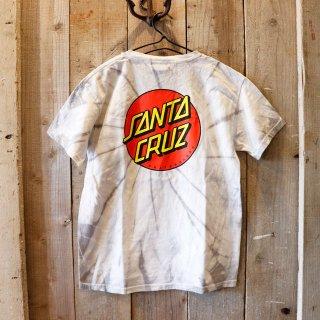 【ボーイズ】SANTA CRUZ(サンタクルズ):タイダイ ロゴTシャツ