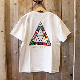 【ボーイズ】HUF(ハフ):プリントTシャツ