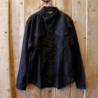 RRL(ダブルアールエルラルフローレン):インディゴワークシャツ