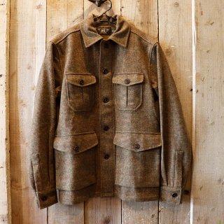 RRL(ダブルアールエルラルフローレン):ツイード シャツジャケット