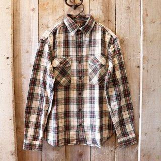 RRL(ダブルアールエルラルフローレン):チェックワークシャツ