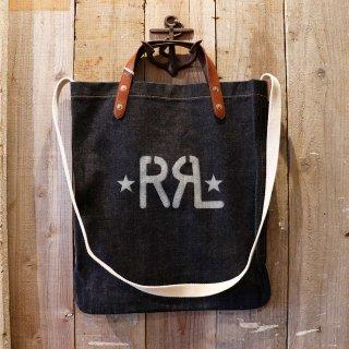 RRL(ダブルアールエルラルフローレン):リジッドデニムショルダーバッグ
