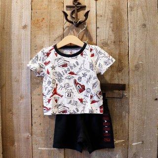 【ベビー】Nike Jordan Brand(ナイキ ジョーダンブランド):セットアップ(Tシャツ+ショーツ)