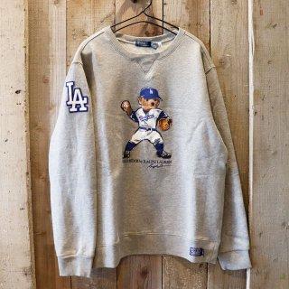 【ボーイズ】Polo Ralph Lauren(ラルフローレン):MLB ドジャース ポロベアースウェット