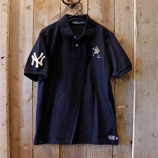【ボーイズ】Polo Ralph Lauren(ラルフローレン):MLB ヤンキース ポロベアーポロシャツ