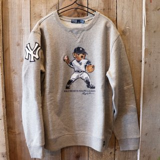 【ボーイズ】Polo Ralph Lauren(ラルフローレン):MLB ヤンキース ポロベアースウェット