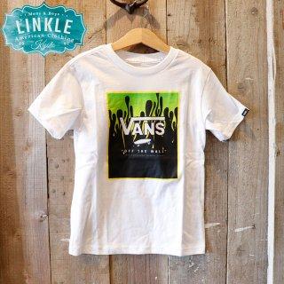 【ボーイズ】Vans(バンズ):ボックスロゴ Tシャツ