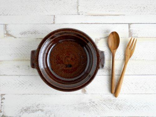 アメ釉 耐熱グラタン皿 古谷製陶所