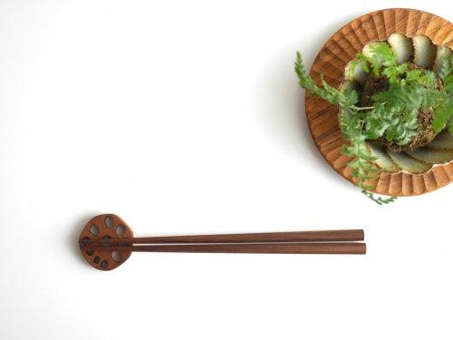 八角箸 ウォールナット