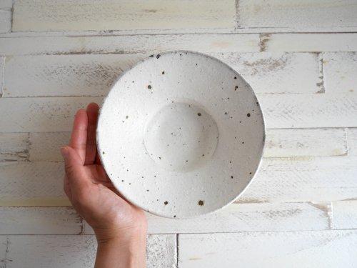帽子鉢(広) shiromoegi 村上直子