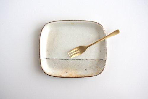 荒鉄線 パン皿小 古谷製陶所