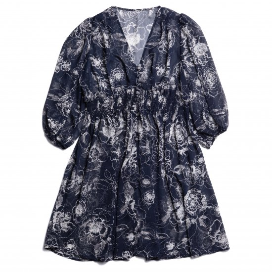 Flower 2 Way One-Piece(Navy)<img class='new_mark_img2' src='https://img.shop-pro.jp/img/new/icons20.gif' style='border:none;display:inline;margin:0px;padding:0px;width:auto;' />
