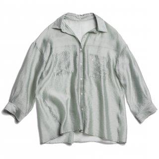 AMYER - Big Sheer Shirt(Mint)
