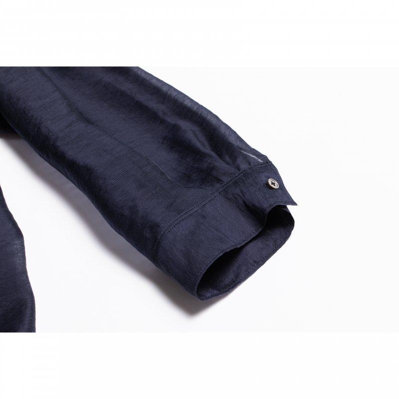 Big Sheer Shirt(Navy)