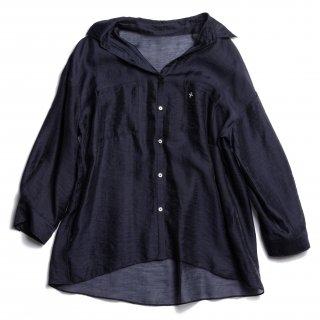 AMYER - Big Sheer Shirt(Navy)