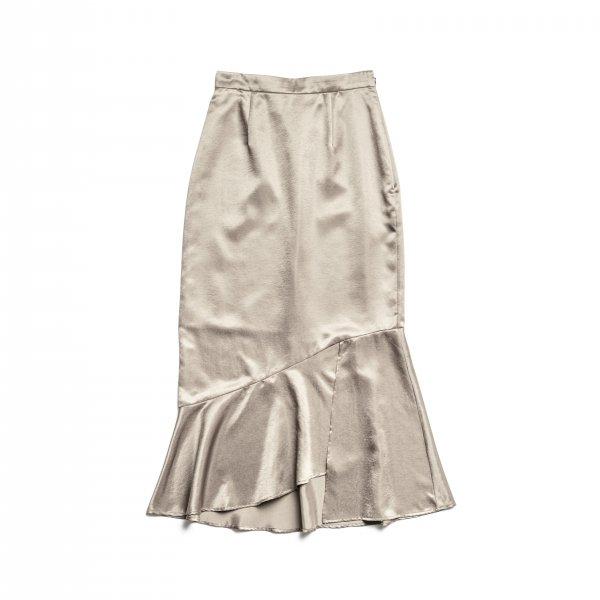 AMYER - Mermaid Skirt(Beige)