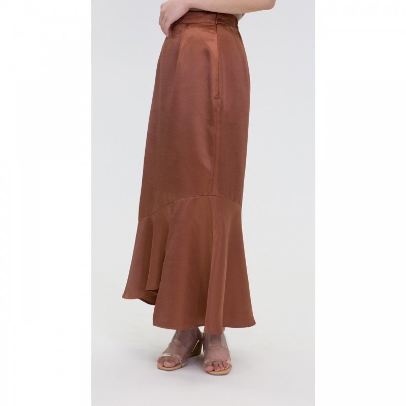 Mermaid Skirt(Brown)