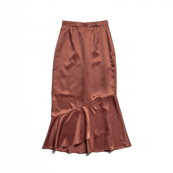 AMYER - Mermaid Skirt(Brown)
