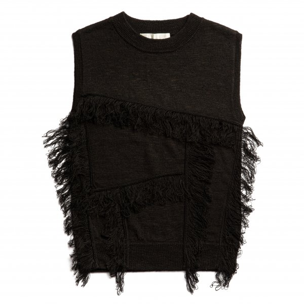 AMYER - Fringe Knit Pullover(Black)<img class='new_mark_img2' src='https://img.shop-pro.jp/img/new/icons20.gif' style='border:none;display:inline;margin:0px;padding:0px;width:auto;' />