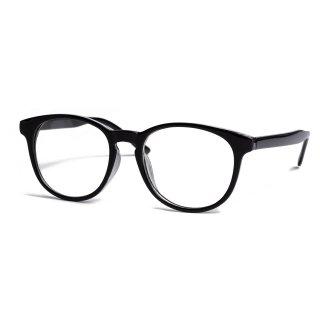 AMYER - Black Frame Clear Sunglasses