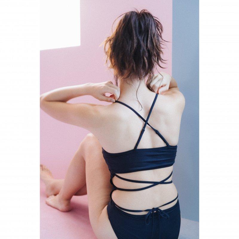 Lace Docking Swimwear(Black)