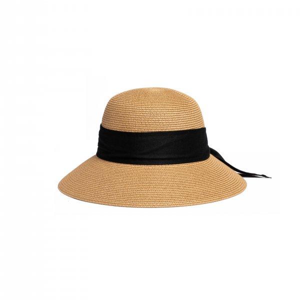 AMYER - Back Ribbon Audrey Hat