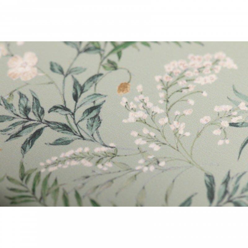 Flower Print iPhone Case(Mint)