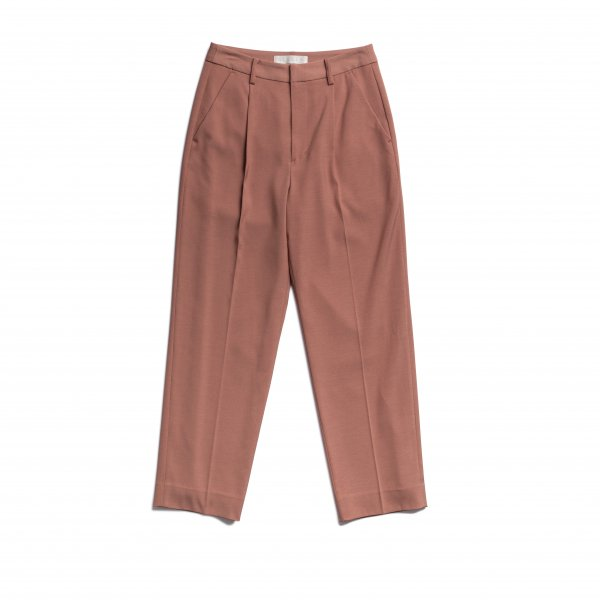 AMYER - Tuck Tapered Pants(Pink)