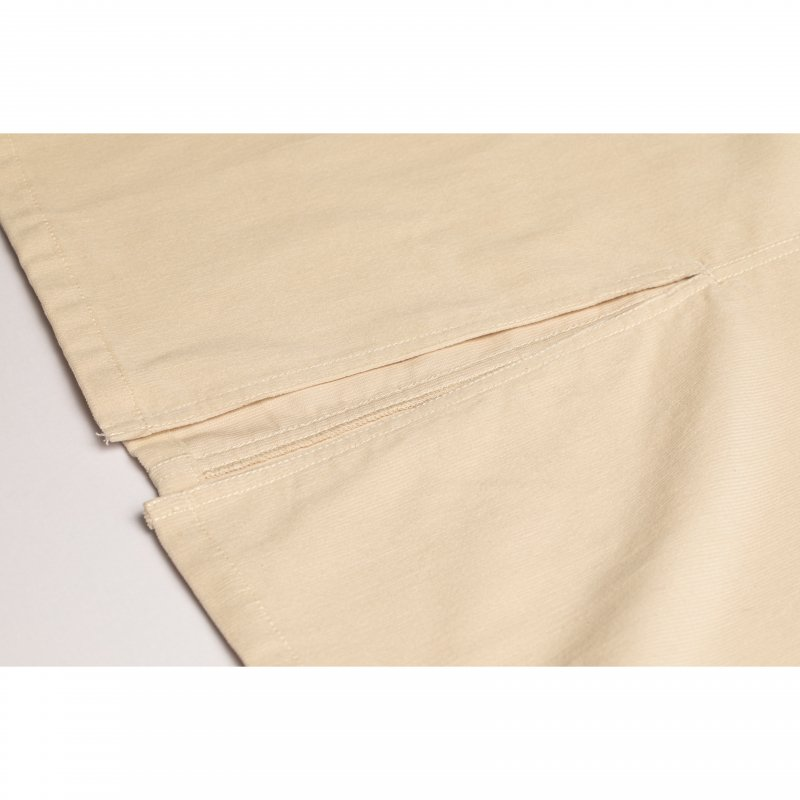 Corduroy Jumper Skirt(Off White)