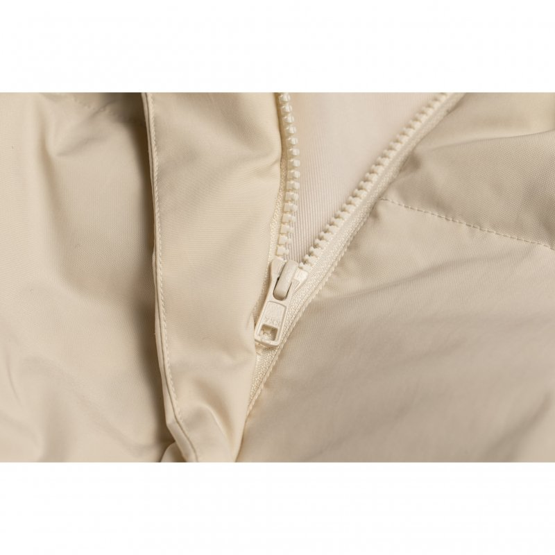 Balloon Sleeve Short Down Jacket(Off White)
