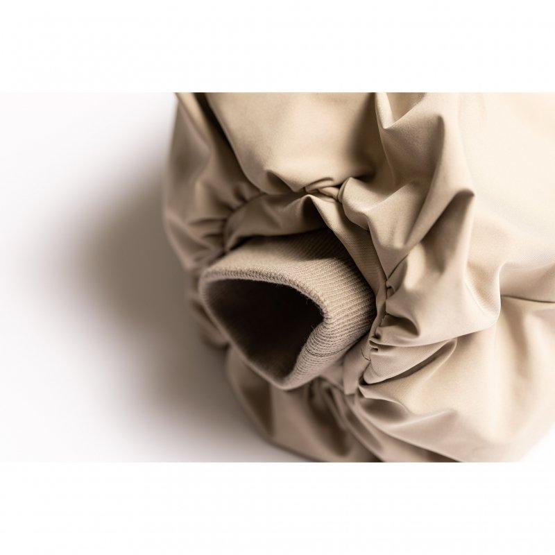Balloon Sleeve Short Down Jacket(Beige)